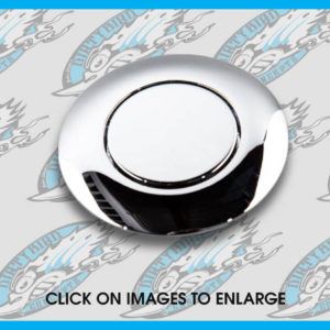Harley pop up gas cap in chrome
