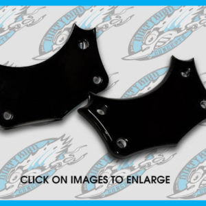 Harley front fender mounting blocks