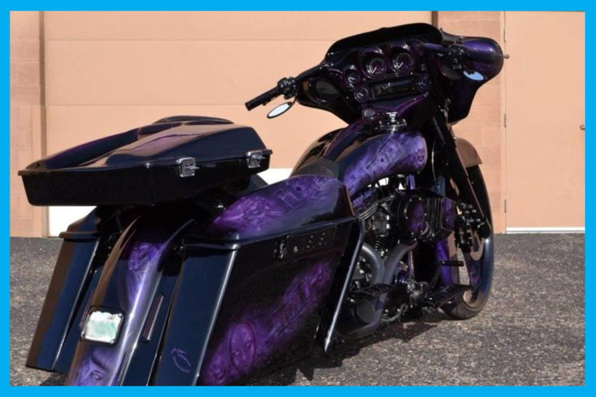 Harley Davidson Razor Tour Pak