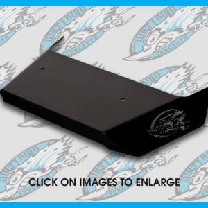 Harley heat shield deflector by John Shope