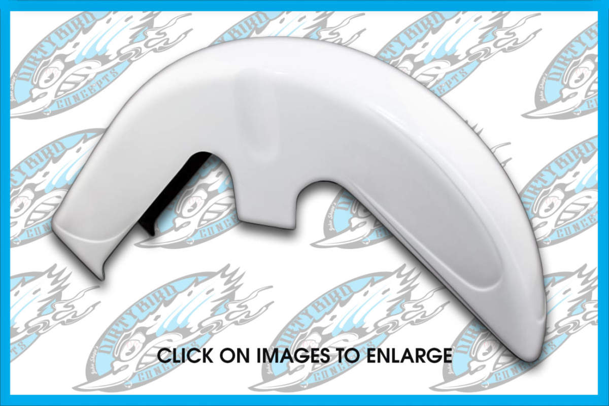 Harley Scalloped Front Fender for Softails