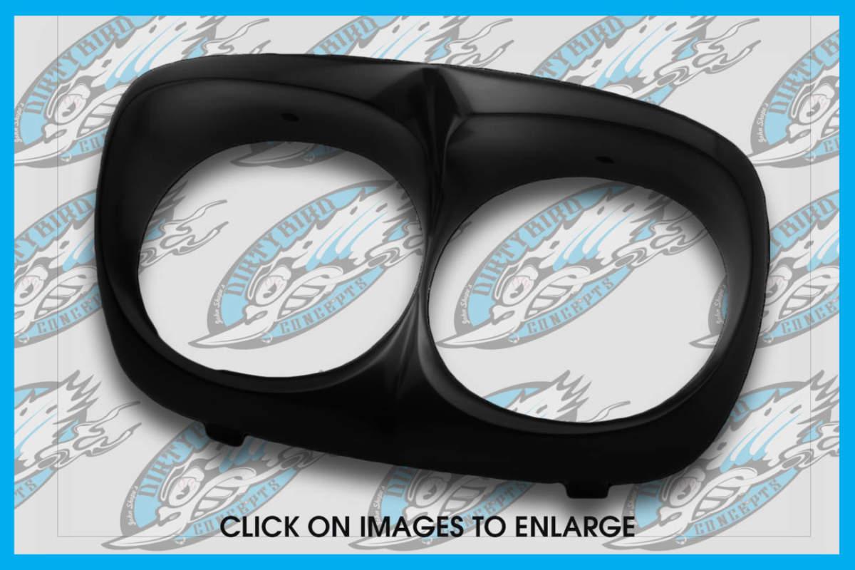 Harley Davidson Road Glide headlight bezel