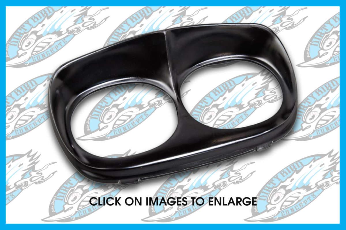 Harley headlight bezel for Road Glide baggers