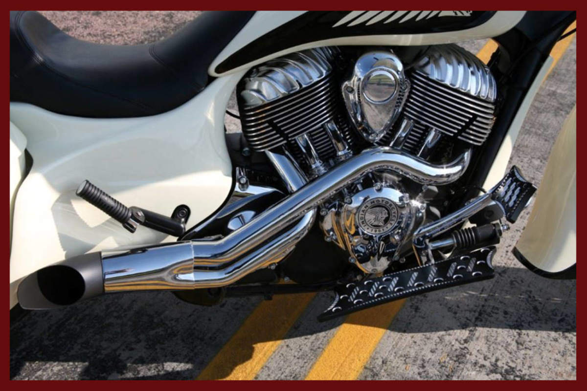 Indian Motorcycle Exhaust Peace Pipe Performance Exhaust -7944