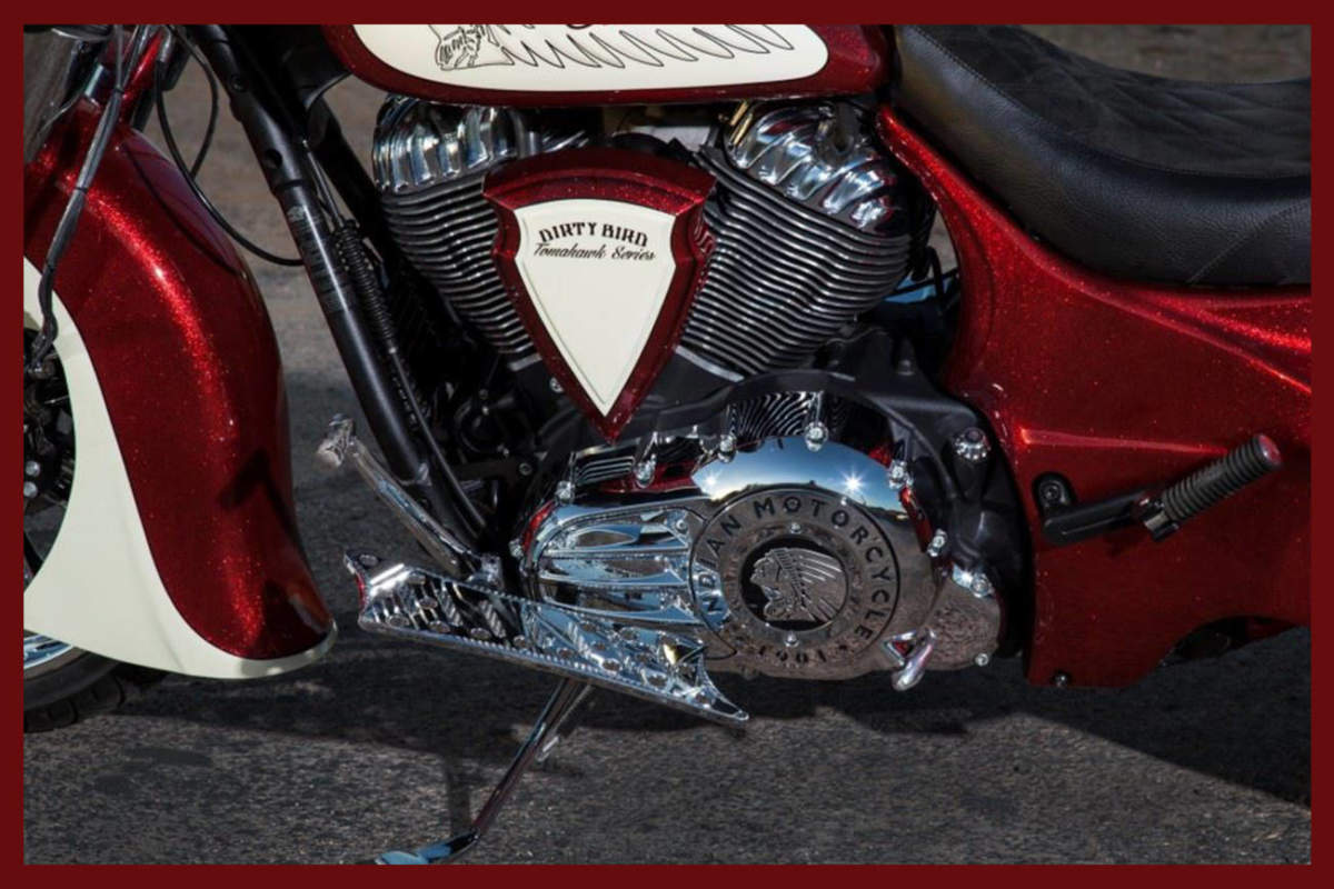 Army Motorcycle Custom Air Cleaners : Indian motorcycle air cleaner arrowhead intake by dirty