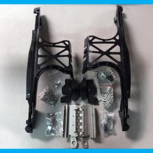Harley replica saddlebag lid latch hardware kit
